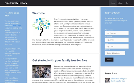 Free Family History site