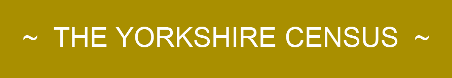 Yorkshire Census site